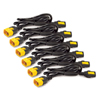 Locking, C13 to C14, 1.2m Power Cord Kit (Package of 6)