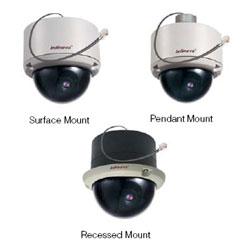 Infinova Indoor Vandal Resistant IP Color Fixed Minidome Camera