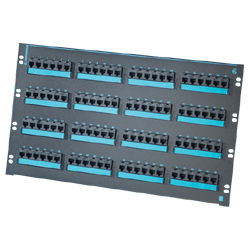 Legrand - Ortronics Clarity 6 96-Port Category 6 Patch Panel, Six-Port Modules