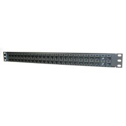Legrand - Ortronics 48-port Rear Load Maximum Density Category 5E Patch Panel (1 Rack Unit)