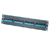 Clarity 6 24-Port Category 6 Patch Panel, Six-Port Modules