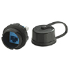 DuraPort CAT 6 Industrial Connector Housing with Connector Cap
