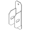 Center Spine Tray-to-Wall Connector End Cap