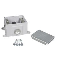 Legrand - Wiremold OmniBox Series Single Gang Cast Iron Floor Box