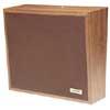 One-Way Woodgrain Wall Speaker (Cloth)