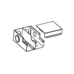 Legrand - Wiremold 4000 Series Raceway Full Capacity Entrance End Fitting