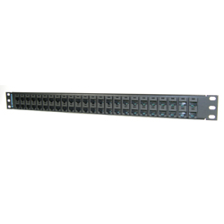 Legrand - Ortronics 48-port Rear Load Maximum Density Category 5E Patch Panel (1 Rack Unit)