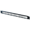 48-port Rear Load Maximum Density Category 6 Patch Panel Kit (1 Rack Unit)