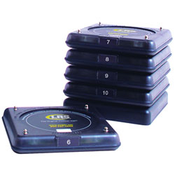 Long Range Systems Guest Paging Smoked Coaster Pagers