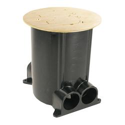 Legrand - Wiremold 881 Series Ratchet-Pro Multi-Service Round Floor Box
