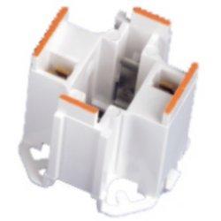 Leviton 10mm Compact GE Lighting Double Biax 26W 2-Pin Fluorescent Lampholder 16 Ga. Panel