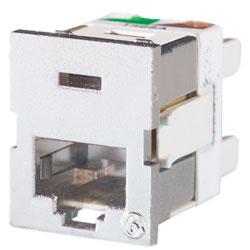 Legrand - Ortronics Clarity 6 Shielded TracJack, T568A/B, 180 degree