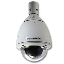Panasonic Weather Proof & Vandal Resistant Color Dome Camera