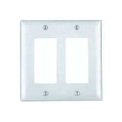 Legrand - On-Q 2-Gang Decorator Wall Plate