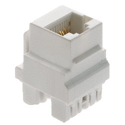 Cat 5e Keyed RJ45 Keystone Connector