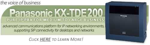 Panasonic KX-TDE200 Converged IP PBX