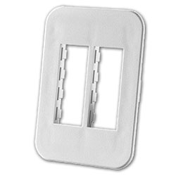 Legrand - Ortronics TracJack™ Four-Port Beltline Herman Miller Furniture Plate