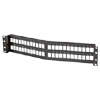 TechChoice Angled Patch Panel Kit 48 Port