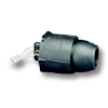 19 Series - Male Ball Nose Single Pole Cam-Type Protective Caps 600 Volt Max.