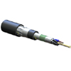 Industrial LSZH Loose Tube, Gel-Free, Double-Jacket Cable, 62.5 µm multimode (OM1)