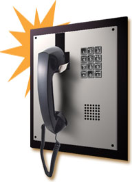 allen tel phones, built-in phones, wall-mounted phones, no dial phones
