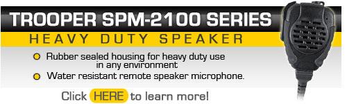 SPM-2100 Trooper Heavy Duty Remote Microphone