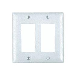 Legrand - On-Q 2-Gang Decorator Wall Plate