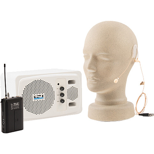 AC Powered Portable Speaker Monitor with Magnetically Shielded Speaker Basic Package
