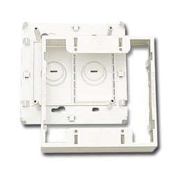 Surface Mounting Box for Double Gang MAX or CT Faceplate