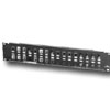 QuickPort Multimedia Patch Panel with Cable Management Bar