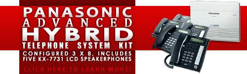 Panasonic KX-TA824 Phone System Kit with 5 - KX-T7731 Phones