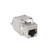 CAT 6A Shielded Connector Snap-in Jack
