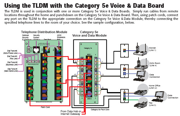 TLDM with Cat 5