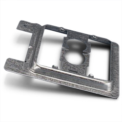 New Constructed Double Gang Plate Bracket