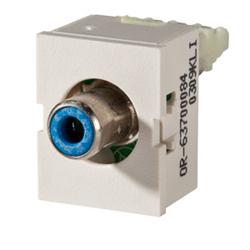 Legrand - Ortronics TracJack Module Blue Phono/RCA to 110