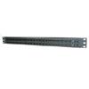 48-port Rear Load Maximum Density Category 6 Patch Panel (1 Rack Unit)