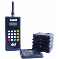 Long Range Systems Guest Paging Kit with 5 Coasters