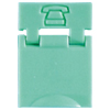 Colored Designation Shutters, Phone, Light Green (Package of 100)