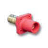 16 Series - Male Taper Nose Double Set Screw Panel Receptacle 400 Amp Max.