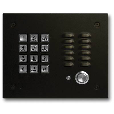Viking Vandal Resistant Handsfree Entry Phone with Keypad, Enhanced Weather Protection and Oil Rubbed Bronze Finish