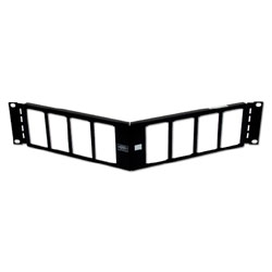 Hubbell iStation Angled Patch Panel (Unloaded)