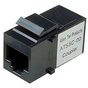 Allen Tel CAT 5e Snap-In Coupler