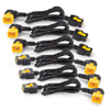 Locking, C19 to C20 (90 Degree), 1.2m Power Cord Kit (Package of 6)