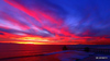 Huntington Beach Pier Colors of a January Sunset