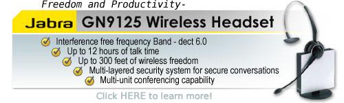 GN9125 Wireless Headset from GN Netcom
