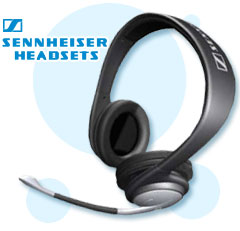 sennheiser headsets, multimedia headsets, office headsets, mobile headsets