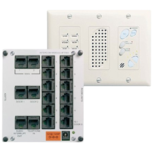 inQuire™ Intercom Module and Main Console