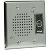 Flush Mount Doorplate Speaker with LED