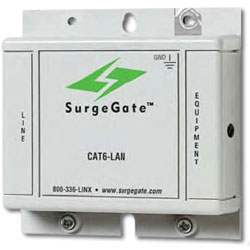ITW Linx SurgeGate Category 6 Solid-State Building Entrance Protector