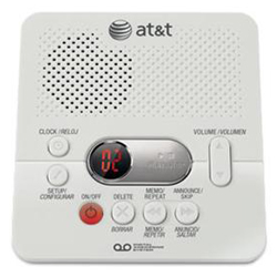 AT&T Digital Answering System with 60 Minutes Recording Time